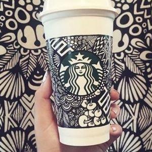 Starbucks 2013 Art Contest Winning Design Cup